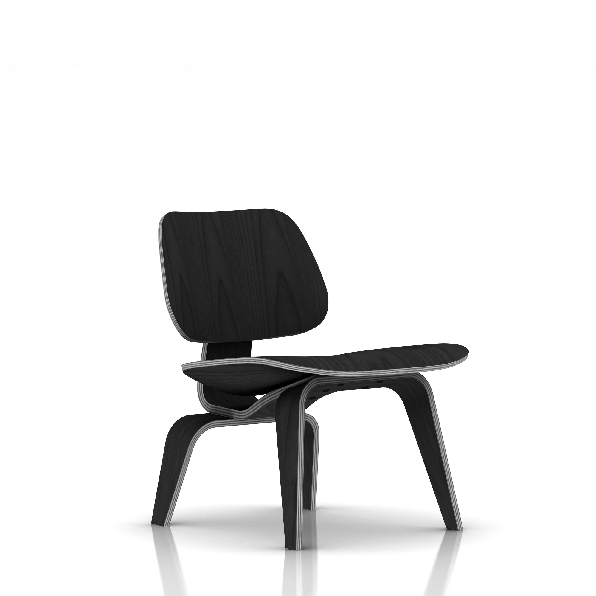 herman miller eames molded plywood lounge chair wood. Black Bedroom Furniture Sets. Home Design Ideas