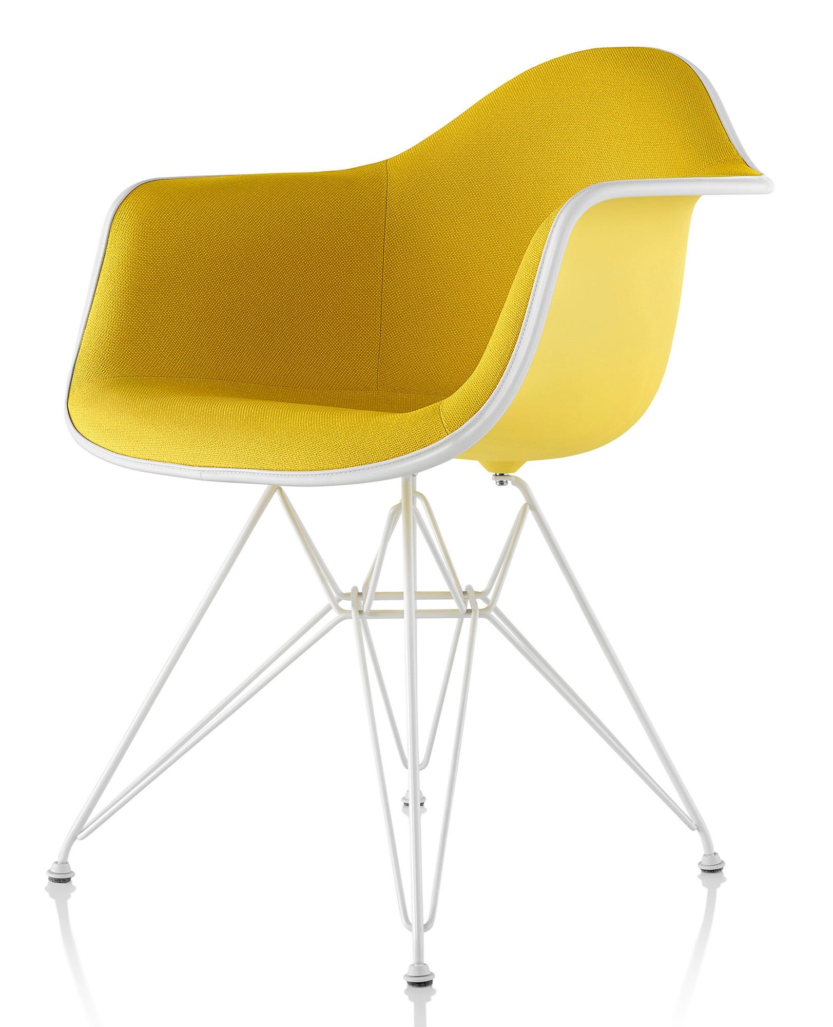 herman miller eames molded plastic armchair upholstered shell gr shop canada. Black Bedroom Furniture Sets. Home Design Ideas