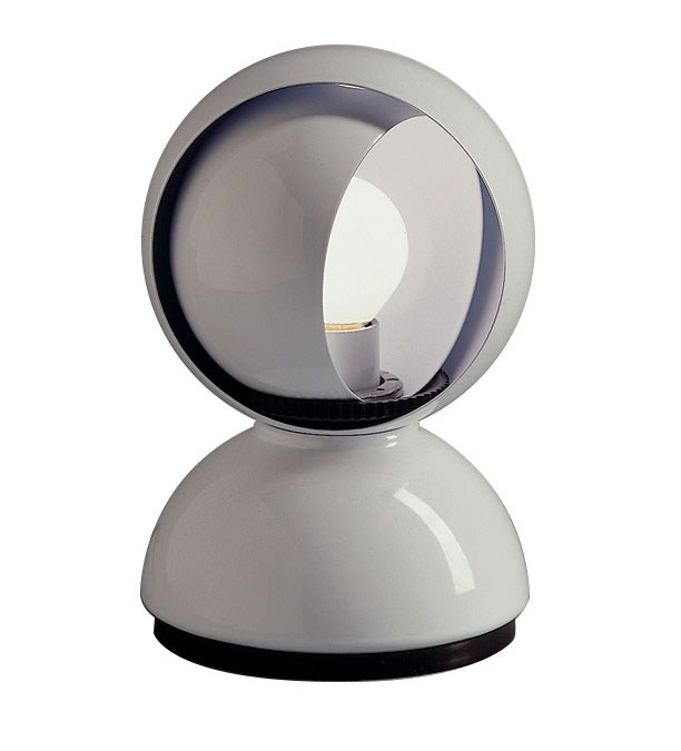 Artemide eclisse table lamp gr shop canada polished white aloadofball Image collections