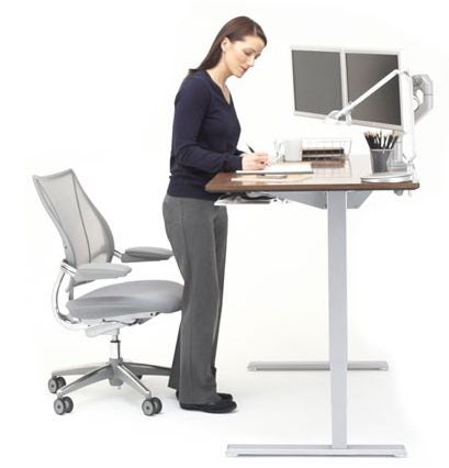 Humanscale Float Height Adjustable Table GR Shop Canada