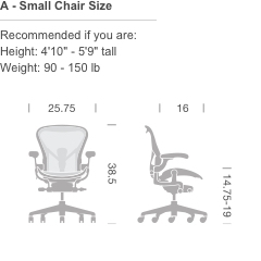 Marvelous Herman Miller Aeron Chair Basic Ocoug Best Dining Table And Chair Ideas Images Ocougorg