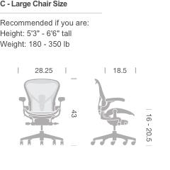 Herman Miller Aeron Chair Fully Loaded Gr Canada