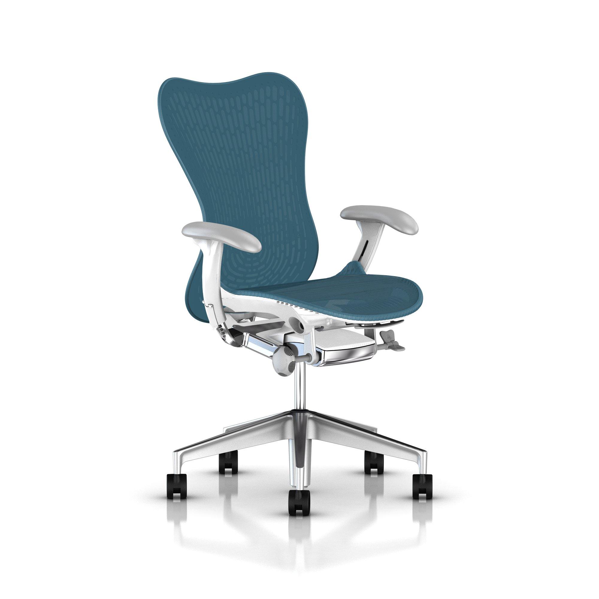 herman miller mirra 2 chair executive turquoise gr. Black Bedroom Furniture Sets. Home Design Ideas