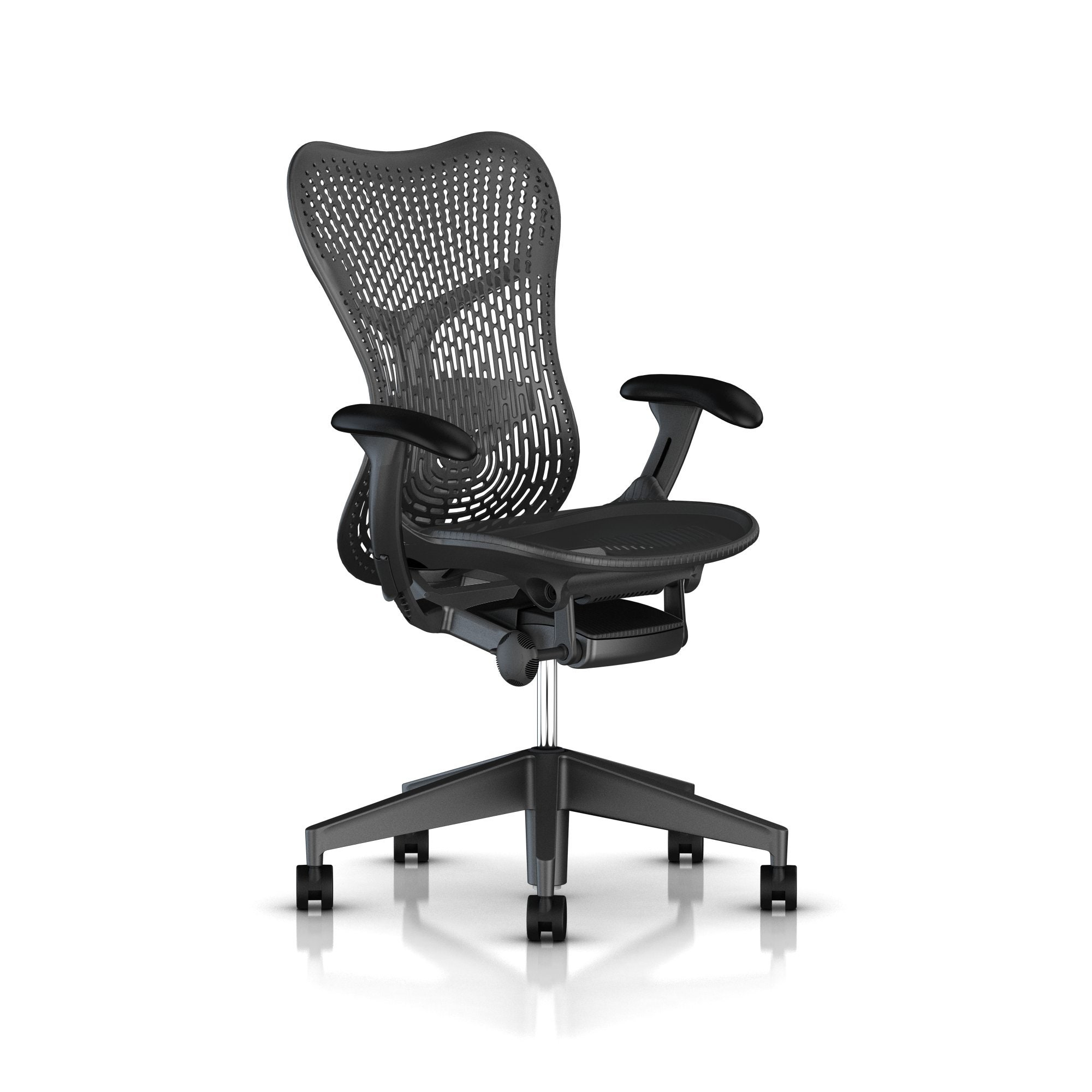 herman miller mirra®  chair  build your own  gr shop canada - graphite basegraphite frame
