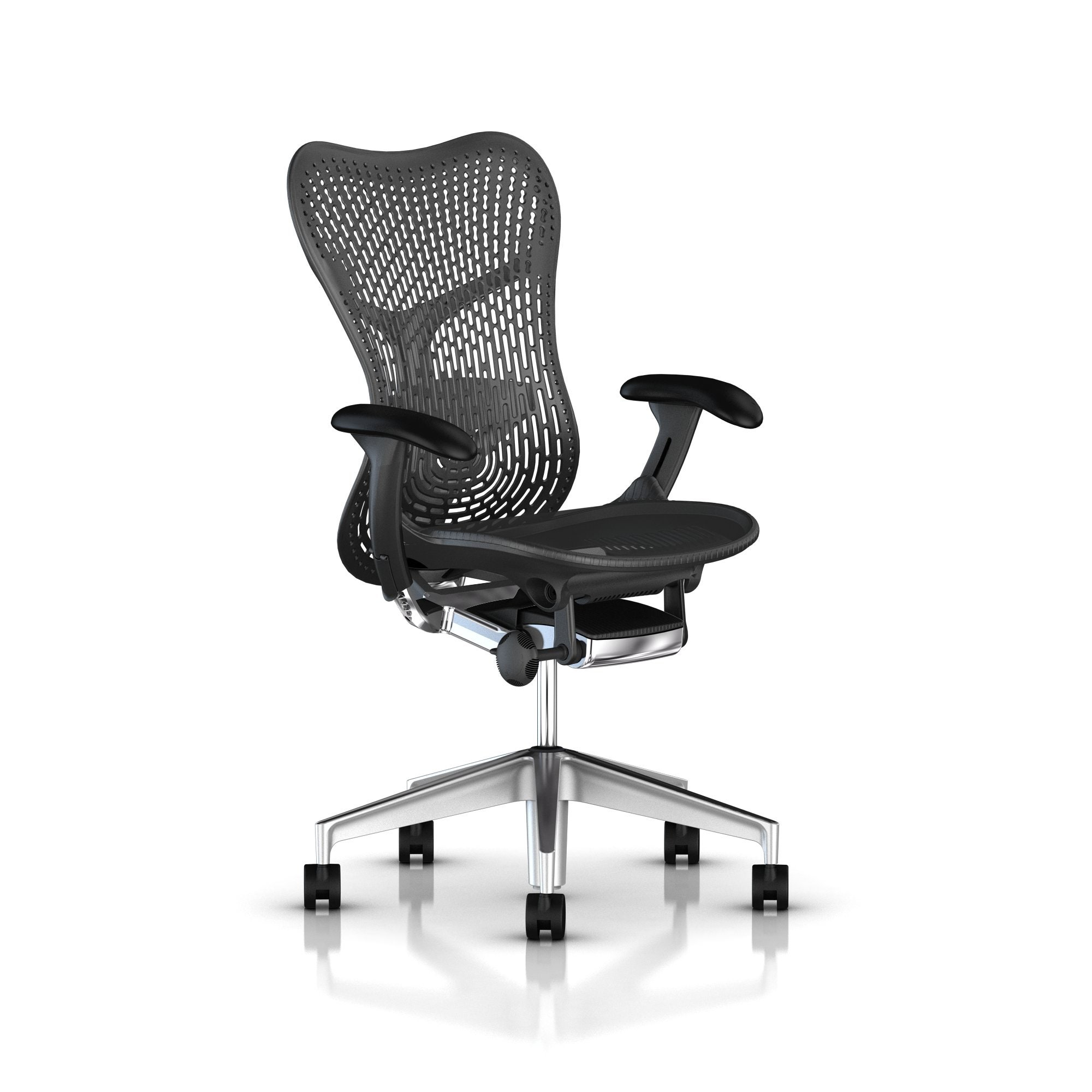 herman miller mirra®  chair  build your own  gr shop canada -  semipolished basegraphite frame