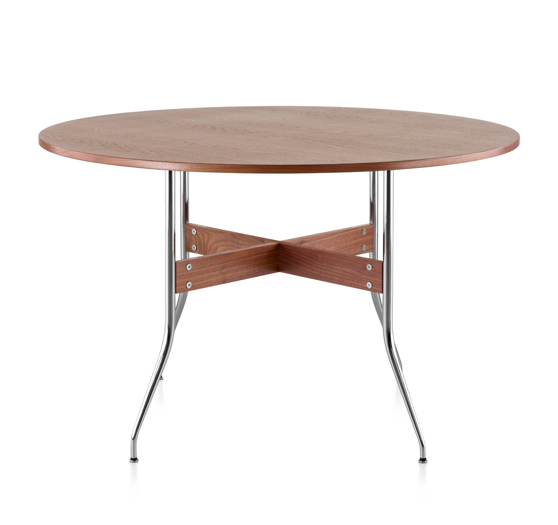 Herman miller nelson swag leg dining table round gr shop for Nelson swag leg table