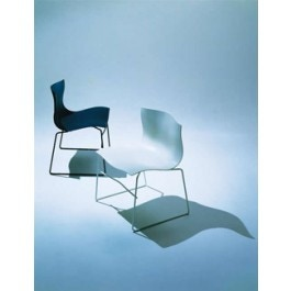 Knoll vignelli associates handkerchief armless chair for Knoll associates