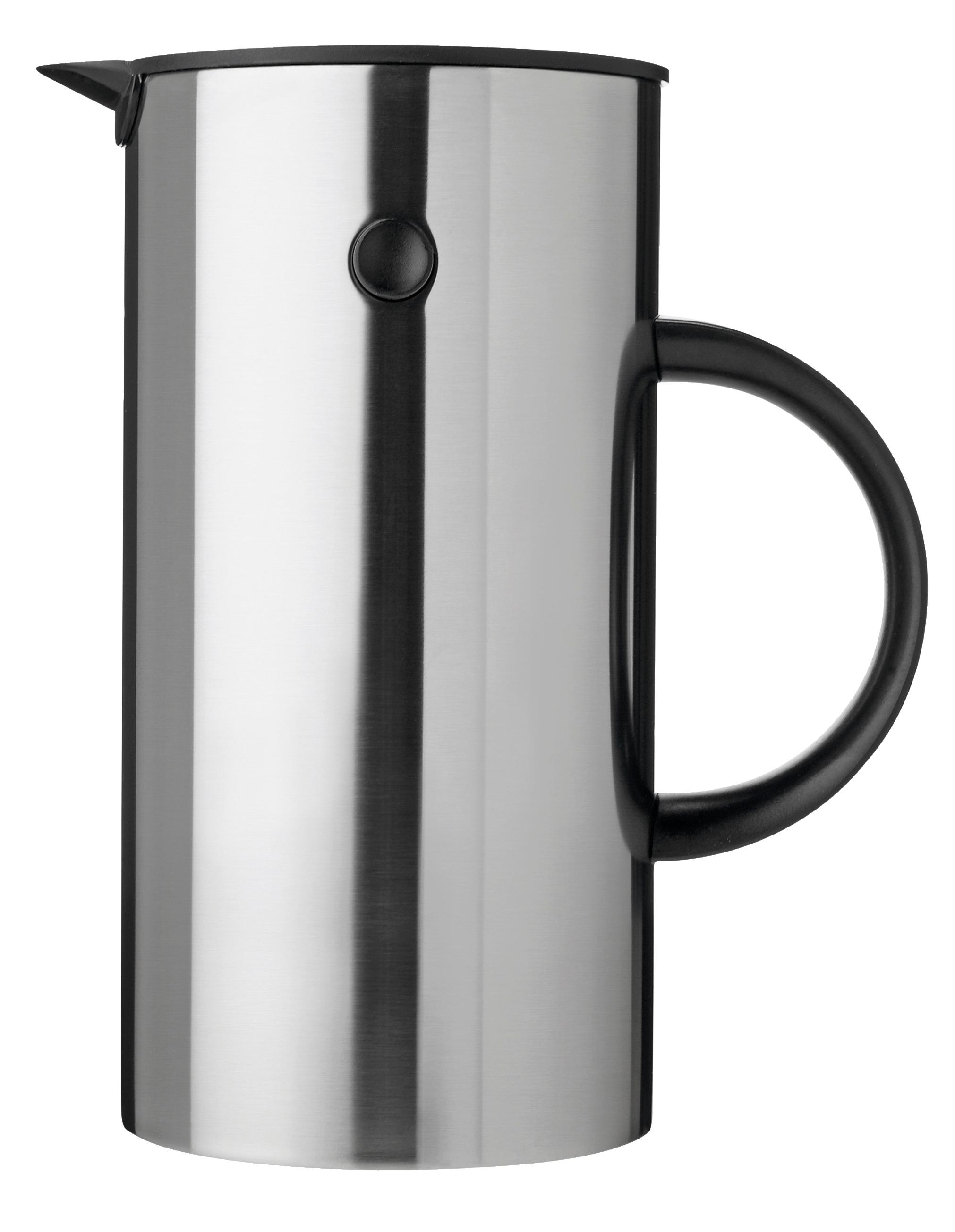 Em Press Coffee Maker Stainless Steel : Stelton EM French Press Coffee Maker - GR Shop Canada