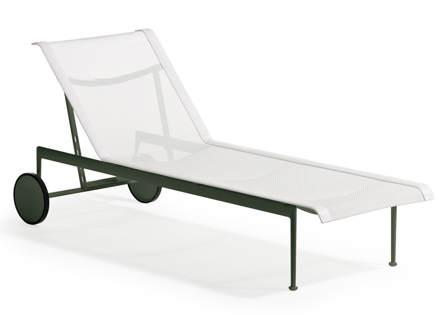 Richard schultz 1966 collection adjustable chaise lounge for Chaise lounge canada