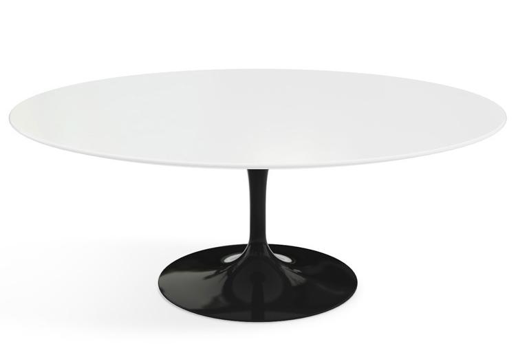 Knoll Saarinen Oval Coffee Table Gr Shop Canada