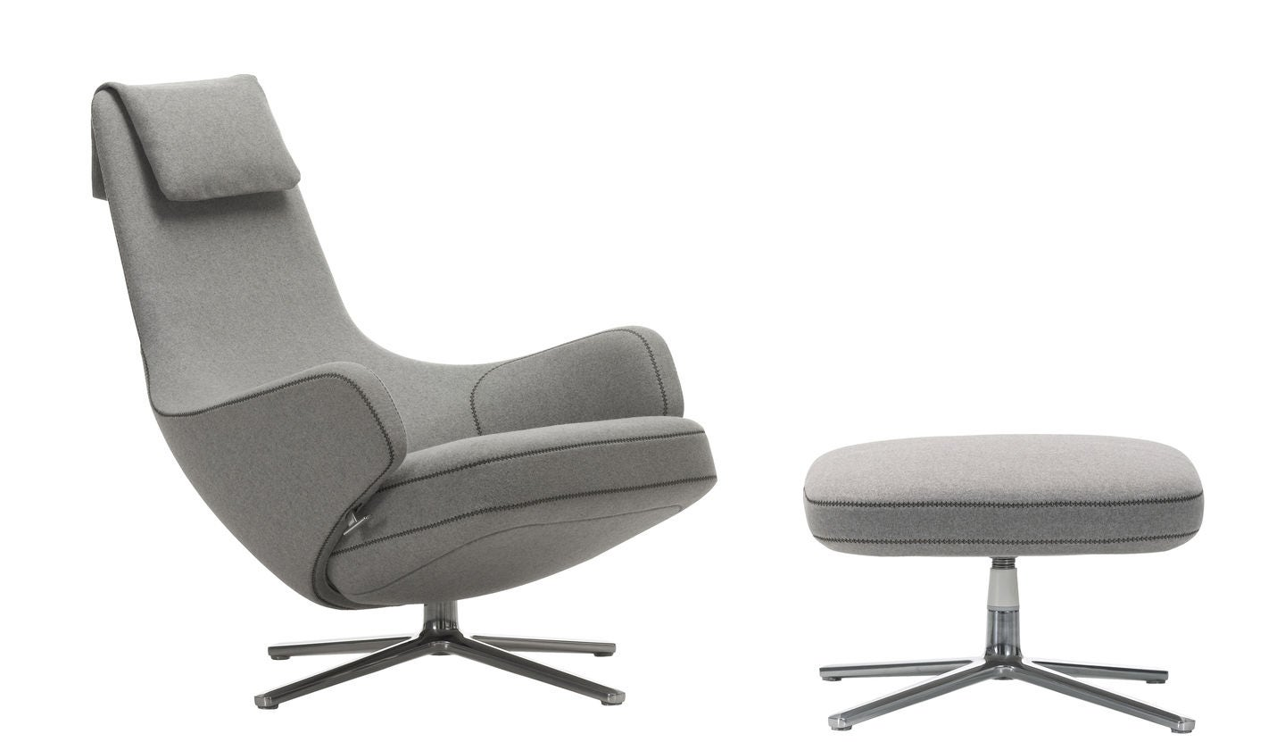 Vitra repos lounge chair gr shop canada for Vitra lounge chair nachbau
