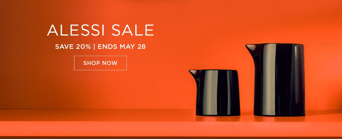 Alessi Victoria Day Sale