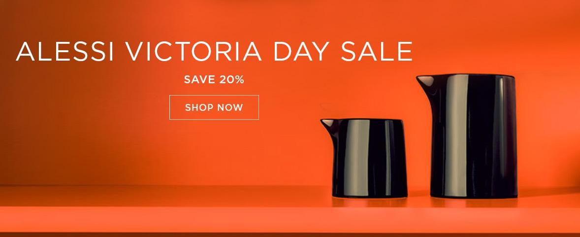 Alessi Victoria Day Sale