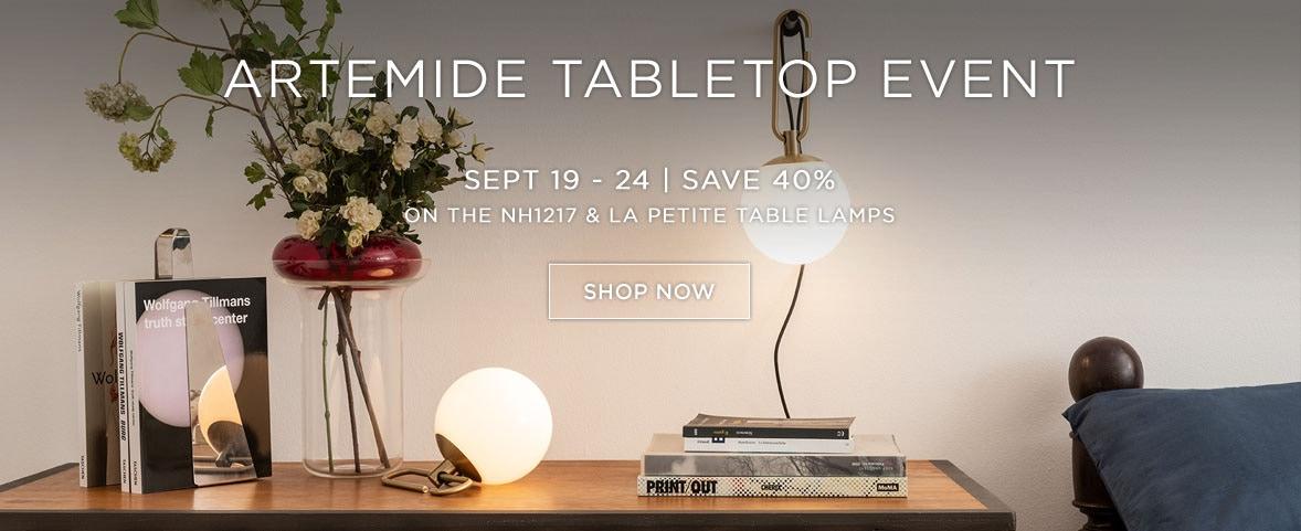 Artemide Table Top Promo
