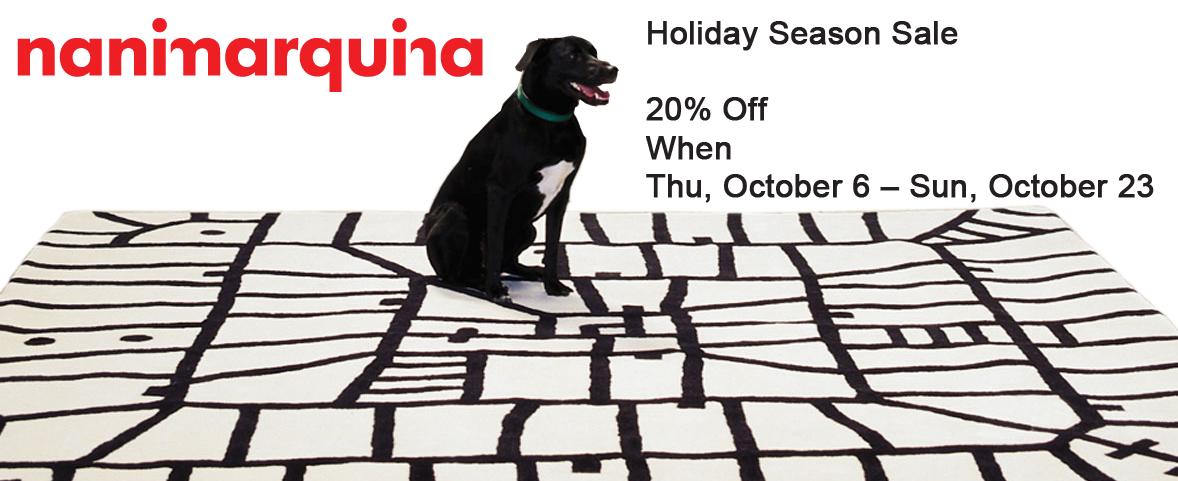 Nanimarquina Holiday Season Sale