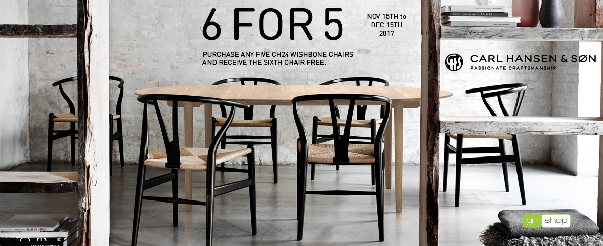 Carl Hansen 6 for 5 CH24 Promotion