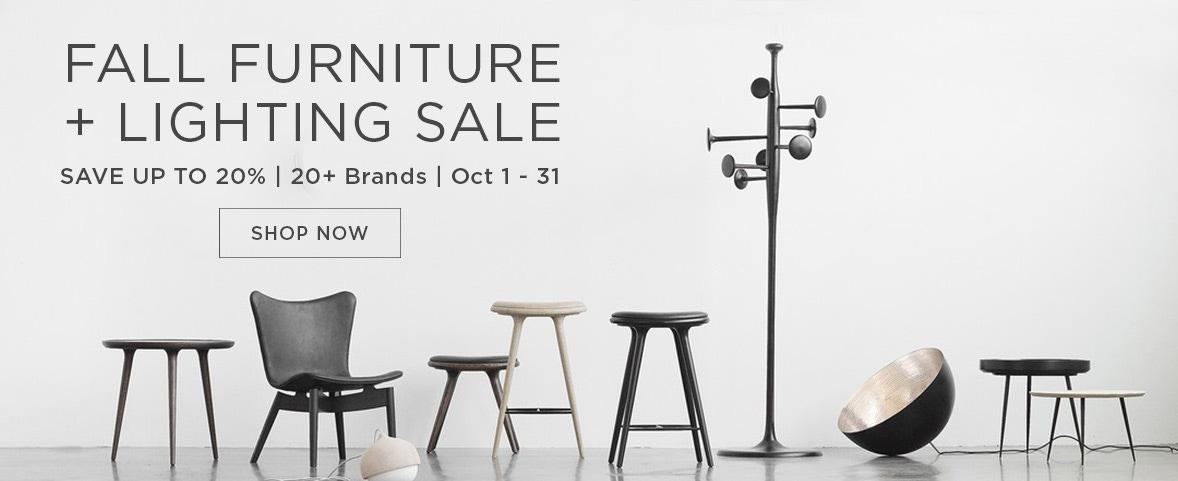 Fall Furniture and Lighting Sale