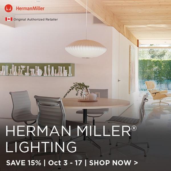 Herman Miller Lighting Sale, Save 15%