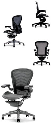 aeron posturefit chairs