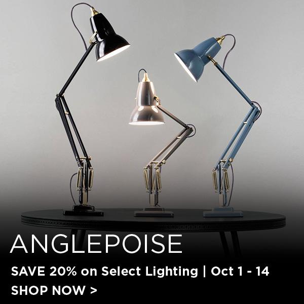 Anglepoise Sale, Save 20 % on Select Lighting