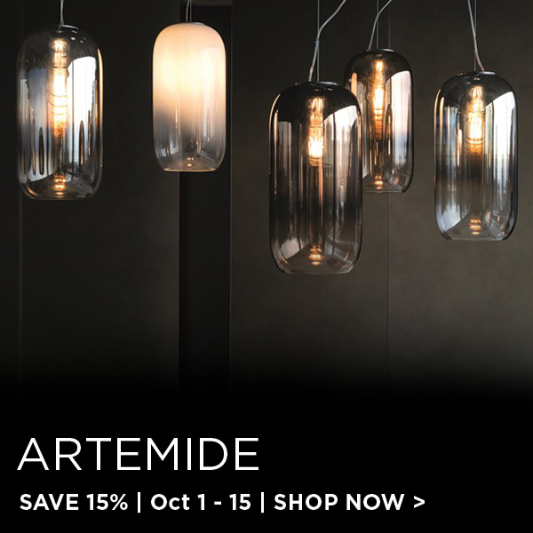Artemide Sale, Save 15%
