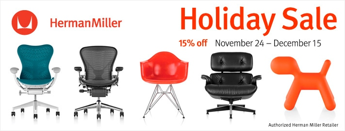 15% off Sale, Starts November 24th and Ends December 15th.