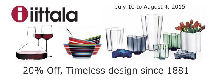 Iittala 2015 Sale