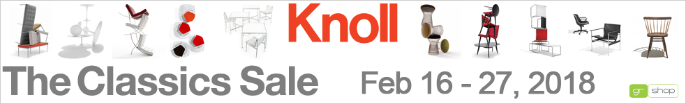 Knoll Classics Sale: Feb 16 - 27, 2018 | 15% Off Classics And Free Delivery On All Furniture