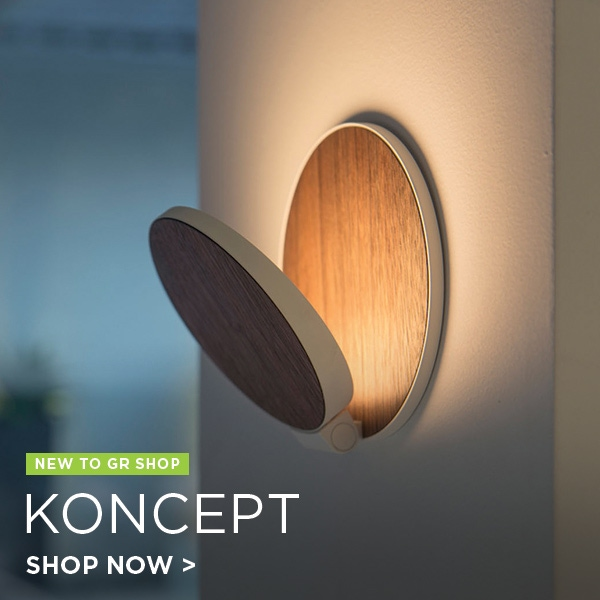 Koncept Lighting, new to gr Shop.