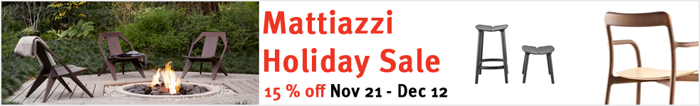 The Mattiazzi Holiday Sale