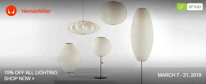Herman Miller Lighting Sale, Save 15%