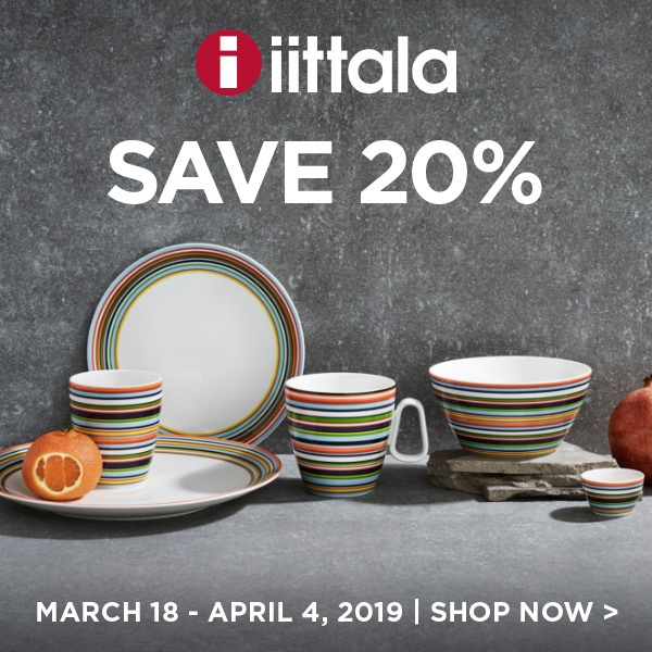Save 20% on Iittala
