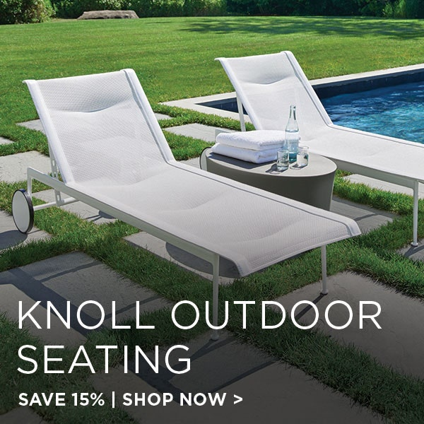 Knoll Outdoor Seating on Sale, Save 15%