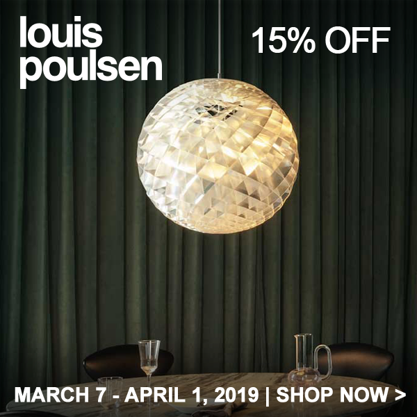 Save 15% on Louis Poulsen