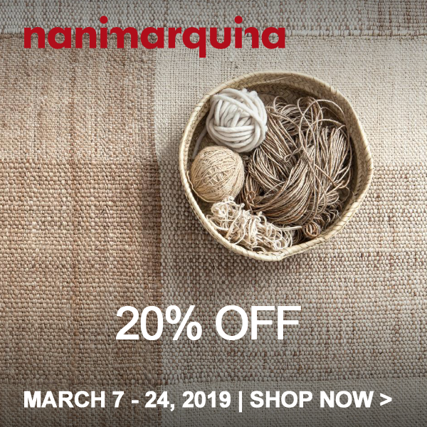 Save 20% on Nanimarquina