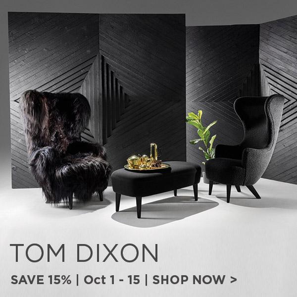Tom Dixon Sale, Save 15%