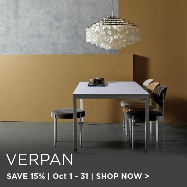 Verpan Sale, Save 15%